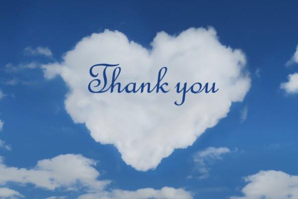 ありがとう雲
