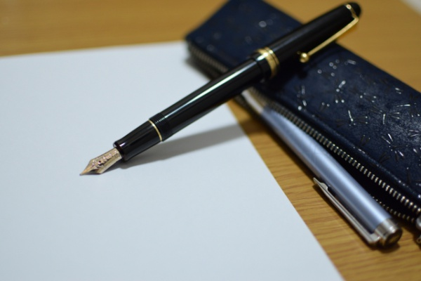 山梨県 筆箱とペン